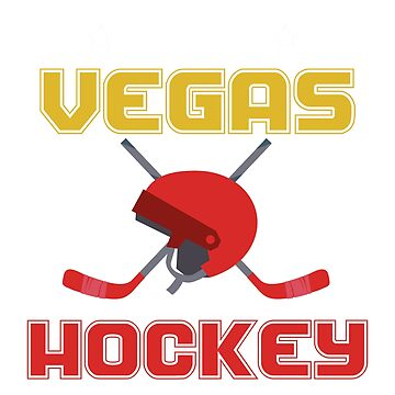 Viva Vegas Hockey Fan Shirts for Men or Women by NguyenNamNam