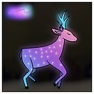 The Deer with the Stars by CaseyMadeAThing