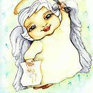 Art Angel by lynzart