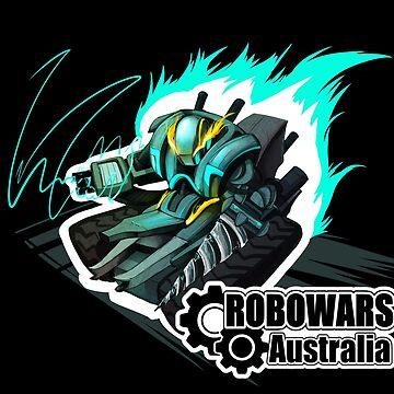 ROBOWARS AUSTRALIA 2016 OFFICIAL DESIGN by SpareInkStudios