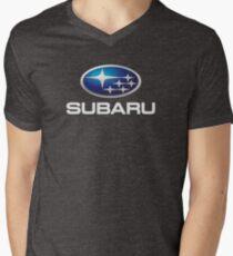 Subaru Logo T Shirt Original Official Men's V-Neck T-Shirt