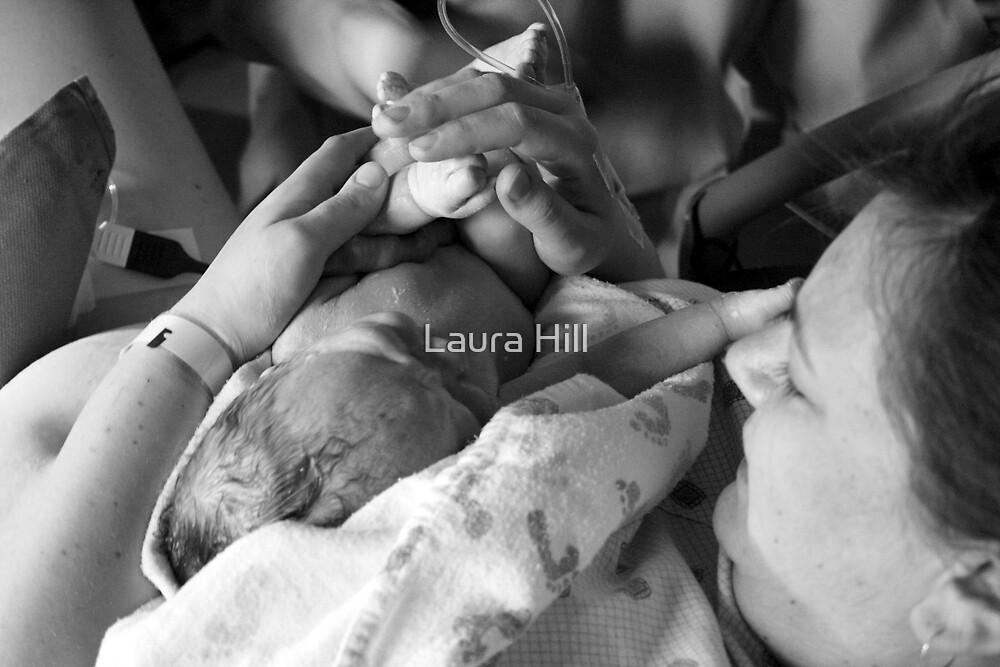 New Baby Jaxon by Laura Hill