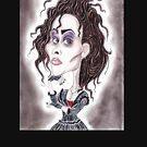 Viktorianische gotische dunkle Karikaturzeichnung von MMPhotographyUK
