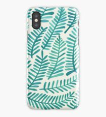 Green Fronds iPhone Case/Skin