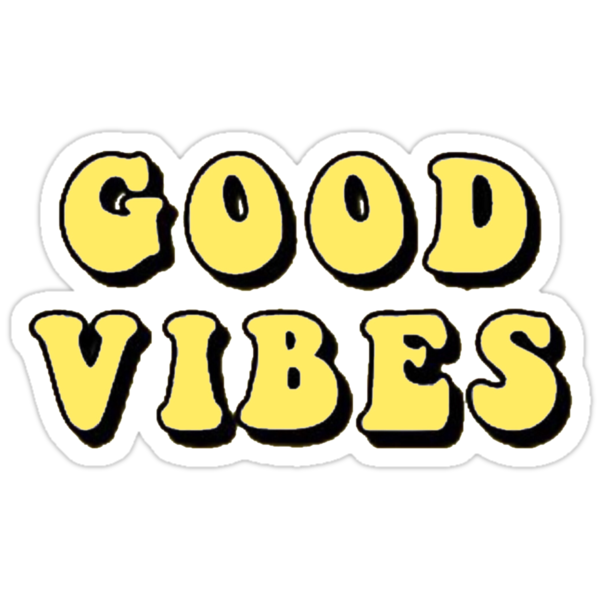 Quot Good Vibes Tumblr Aesthetic Yellow Quot Stickers By Maddie