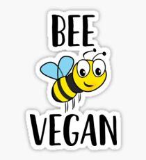 Be Vegan ! Vegetarian Food Vegetables Sticker