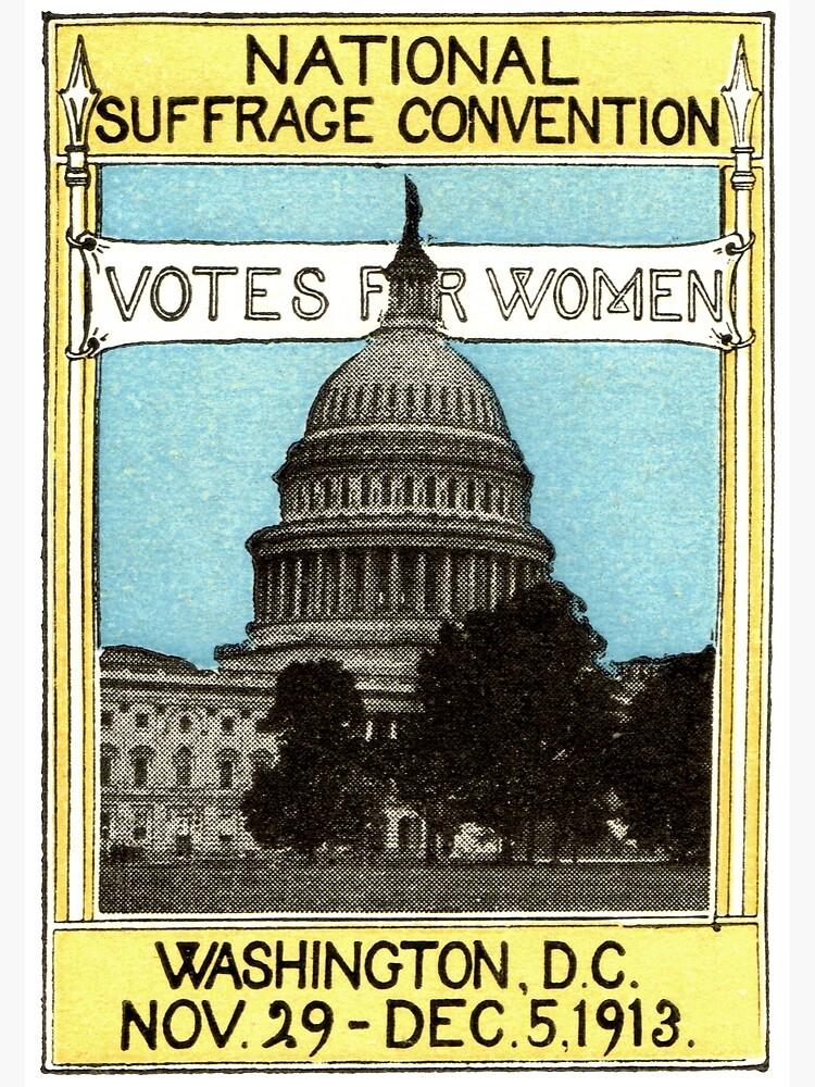 1913 Votos para mujeres de historicimage