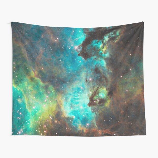 Green Galaxy Tapestry