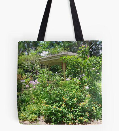 Gazebo at June's Garden, Bayou George, FL Tote Bag