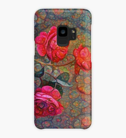 Roses #DeepDreamed Case/Skin for Samsung Galaxy