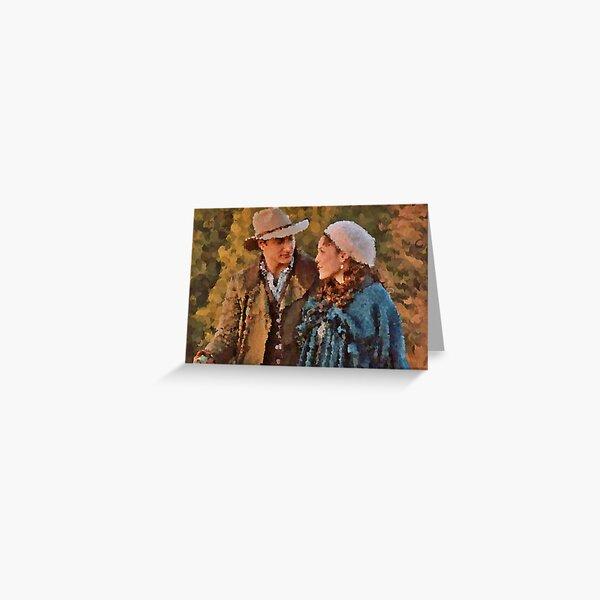 Jack And Elizabeth In Hope ~ By Ernie Kasper Greeting Card