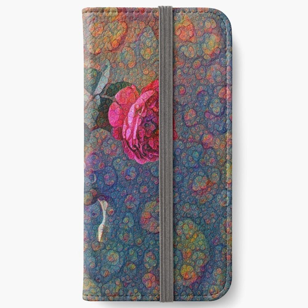 Roses #DeepDreamed iPhone Wallet