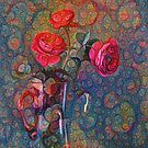 Roses #DeepDreamed by blackhalt