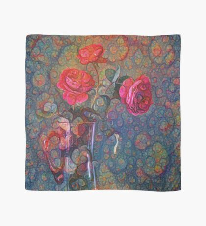 Roses #DeepDreamed Scarf