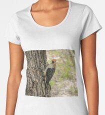 Red Bellied Wood Pecker 6 Women's Premium T-Shirt