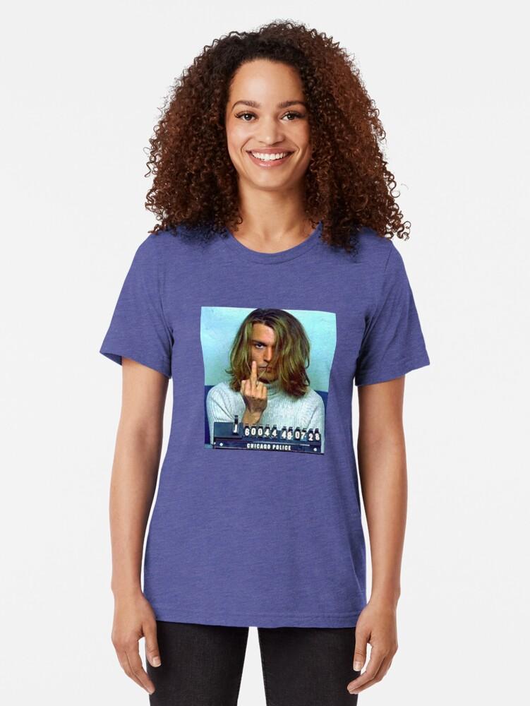 Alternate view of Caught Tri-blend T-Shirt