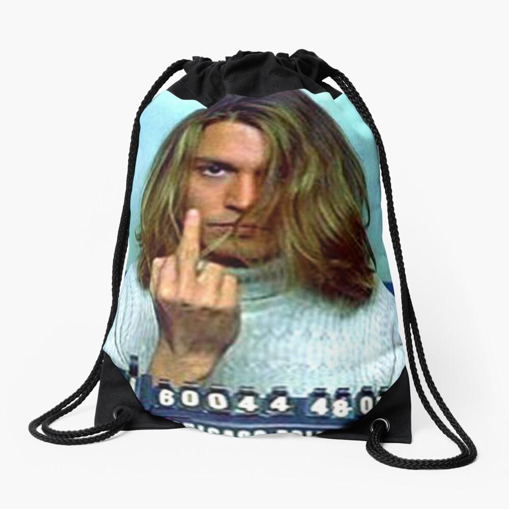 Caught Drawstring Bag