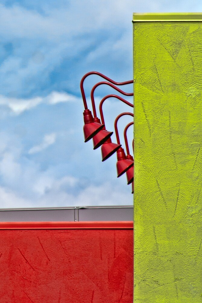 Colorful Structures by Joy  Rector