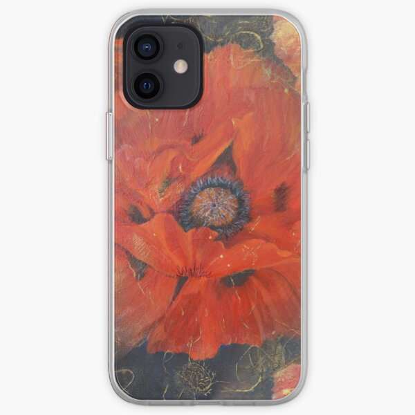 POPPIES iPhone Soft Case