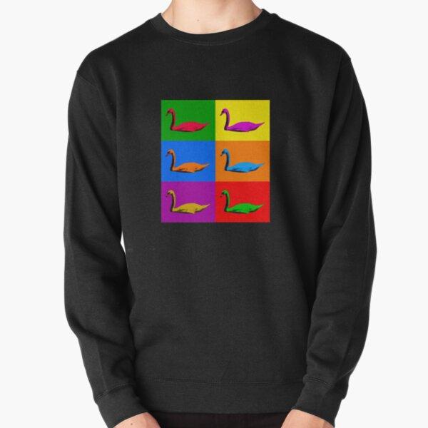 Warhol Pride Swans Pullover Sweatshirt