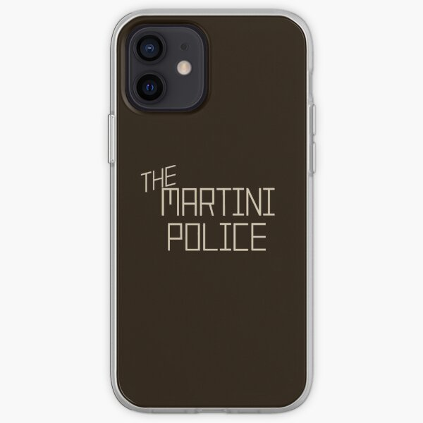 The Martini Police iPhone Soft Case