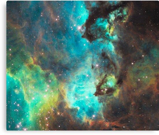 Green Galaxy by rapplatt