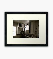 Kitchen Cupboards Framed Print