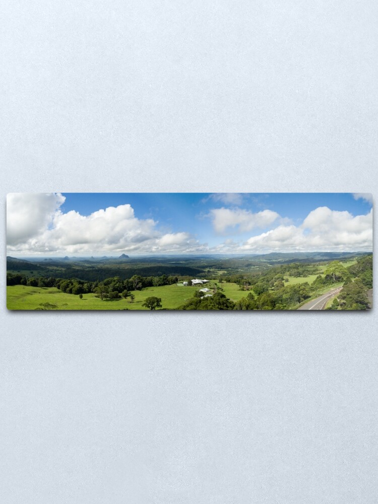 Alternate view of Glass House Mountains Metal Print