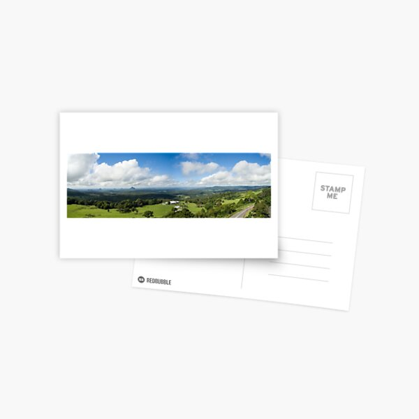 Glass House Mountains Postcard