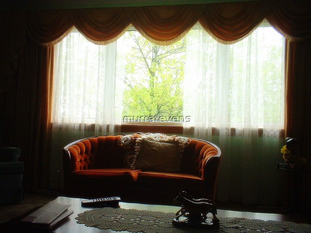 Love Seat at the Window by murrstevens