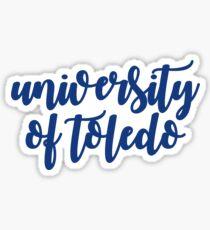 university of toledo Sticker