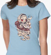 Curiouser Alice  T-Shirt