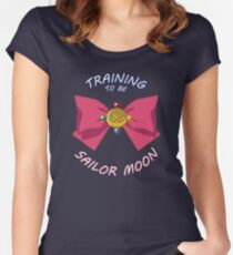 Training to be... Women's Fitted Scoop T-Shirt