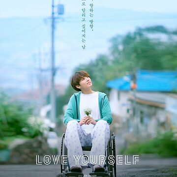 Jungkook Love Yourself POSTER + PHONE CASE (BTS) by Caroline-Wang