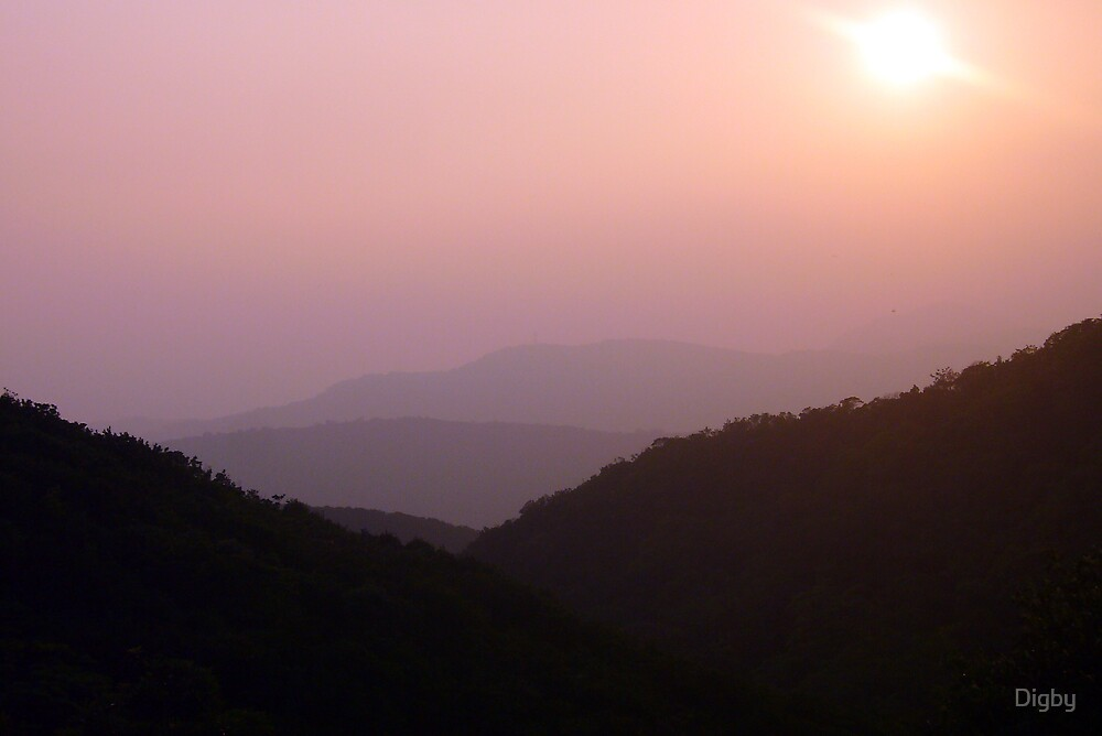 YangMingShan, Early Evening by Digby