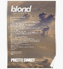 Frank Ocean - Pretty Sweet Poster
