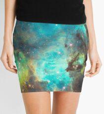Green Galaxy Mini Skirt