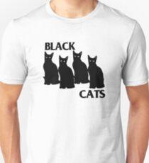 Black Cat Parody Of Black Flag Unisex T-Shirt