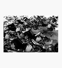 Thai Go-Karts Photographic Print