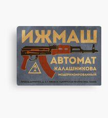 AK-47 (Blue) Leinwanddruck