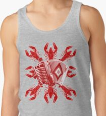 Cajun Music And Crawfish Tank Top