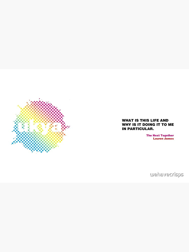 UKYA quote mug: Lauren James, The Next Together by wehavecrisps