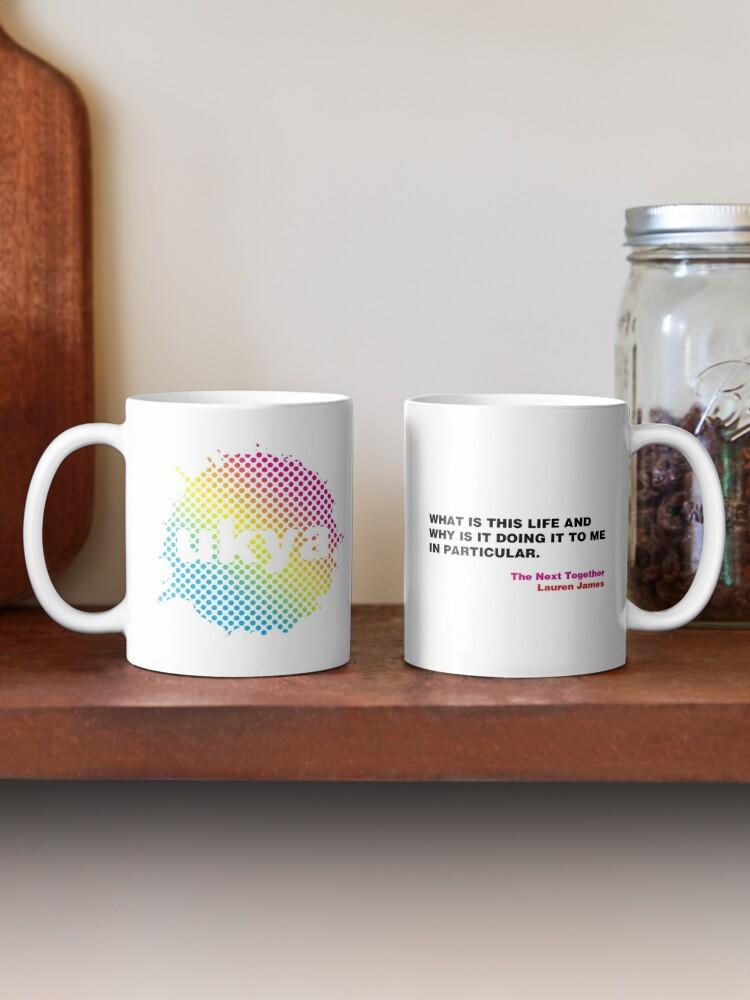 Alternate view of UKYA quote mug: Lauren James, The Next Together Mug