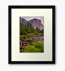 El Capitan Late Summer Framed Print