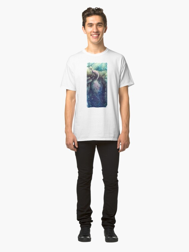 Alternate view of lady of the lake Classic T-Shirt