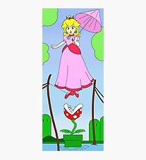 Haunted Mansion Peach  Photographic Print