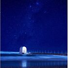 Metewether pump house in Newcastle NSW by MartinasFineArt