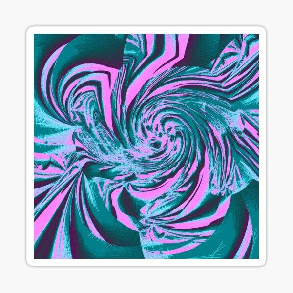 Abstract vortex Sticker