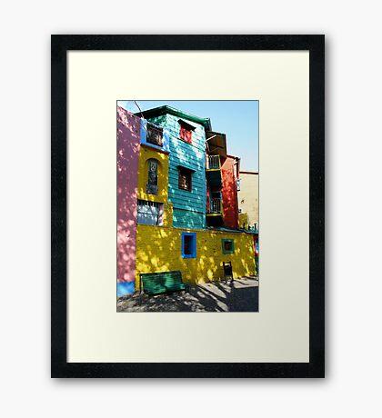 Colour coded Framed Print