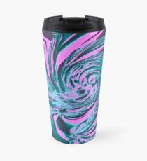 Abstract vortex Travel Mug